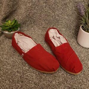 Women's Red TOMS